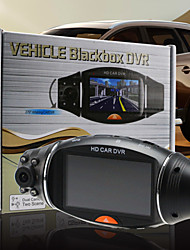 Car Dvr-2.7'' LCD Screen Rotating Dual Len Vehicle DVR Road Dash Video Camera Recorder