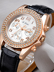drei Dashboard alle Spiel Nachahmung Diamant hochwertigen Uhren gogoey Frauen
