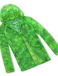 Men's Water Wind Camouflage Skin Trench Coat