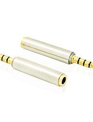 3,5 mm pour casque audio prise jack stéréo mâle à femelle adaptateur convertisseur