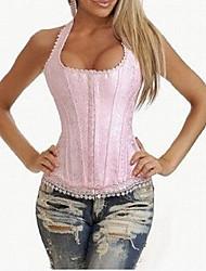 Baumwolle Korsett Shapewear mit T-Rücken und Bügel reizvolle Wäscheformer