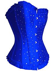 strass cristal corsets shapewear chinlon de polyester noir bleu rouge pourpre lingerie sexy de shaper
