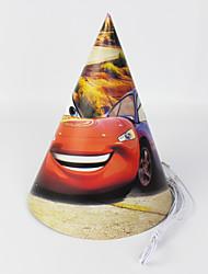 Voitures papier 12pcs chapeau