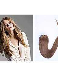8pcs / lot 20inch / 50cm 160g / pack múltiples opciones de color del clip en la extensión del pelo recto grade5a extensión del pelo humano