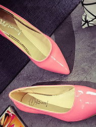 Women's Shoes  Flat Heel Boat/Comfort Flats Outdoor/Office & Career/Dress Black/Blue/Green/Purple/Red