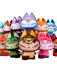 zhuaimao sumg figura de juguete de acción de vinilo gato: 12 constelaciones del uno pertenece a usted para el ornamento juguete