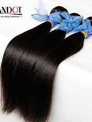 """4pcs viel 8-28 """"indian gerade reine Haarwebart Bündel natürliche schwarze Gewirr kostenlose alkohol remy Menschenhaarverlängerungen"""