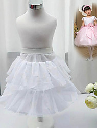 Flower Girl  A-Line Short-Length Nylon/Tulle Netting/Polyester Slip/Petticoat