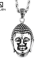 Kalen Men's Jewelry China Buddha Pendant Buddha Statue Pendant Necklace