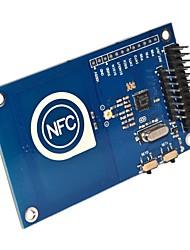 un 13,56 MHz para pn532 Arduino compatible con la tarjeta de pastel de frambuesa tarjeta NFC módulo lector