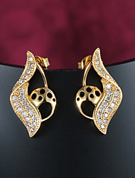 Big Promotion Big PromotionParty/Casual Gold Plated Stud Earrings Wholesale Price Wholesale Price