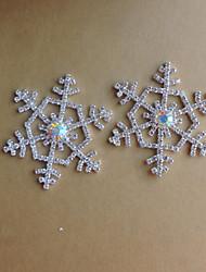 casamento decoração decoração diy diamantes floco de neve