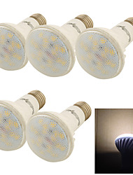 5PCS YouOKLight®  E27 9W CRI=80 800lm 3000K 18*SMD5730 Warm White Light LED Ceramic Spot Lights (AC85-265V)