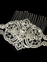 Vintage By Carbonneau Vintage Look Rhinestone Wedding Hair Comb For Bridal