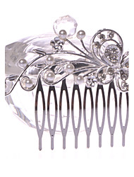 Women's/Flower Girl's Alloy Headpiece - Wedding/Special Occasion/Casual/Office & Career/Outdoor Hair Combs 1 Piece