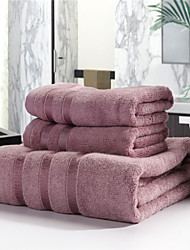 Bed Toppings 70% Bamboo 30% Cotton Bath Towel 3 Pieces Set