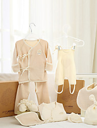 Cotton Suits Set Clothes for Baby Boys and Baby Girls 8 Pieces JA6002P