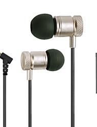 Top-Qualität Legierung Surround-Sound 3.5mm Inohr Kopfhörerkopfhörer für Samsung oder andere Telefone