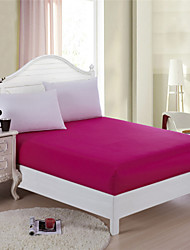 Hot Pink Mattress Protector Fitted Bed Sheet