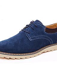 Men's Shoes Casual Oxfords Black/Blue/Brown