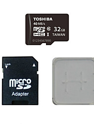 TOSHIBA 32GB Class10 40M/S Memory Card And The Memory Card And The Memory Card Adaptor Box