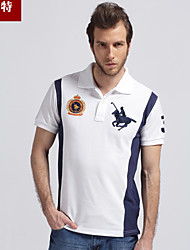 Men's Casual/Sport logo Short Sleeve Regular Polos (Cotton) casual dress world famous brand man's polo shirts