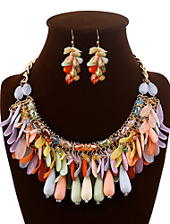 Vely Women's Fashion  Necklace Earring Set