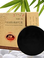 anti acne orgânica remover blackhead clareamento sabonete artesanal 60g