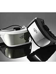 Para Vestir - para - Smartphone - THREE GLASSES - THREE GLASSES D1 Virtual reality helmet VR GLASS - Gafas inteligentes - HDMIMicrosoft