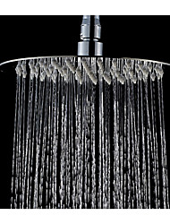 Ultra-Thin Showerheads Rainfall Shower Perfect New Round Chrome Bathroom Stainless Steel Rain Shower 10 inch
