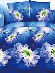yalemei fahsion 3d activité peinture à l'huile quatre pièces