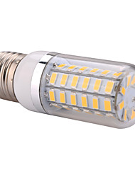 E27  12W 56x5730SMD 1200LM 2800-3200K /6000-6500K Warm White/Cool White Light LED Corn Bulb  (AC 110-130V/AC 220-240V)