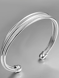 2015 New Design Party/Work/Casual Silver Plated Cuff Bracelet Classical Design
