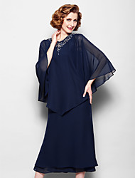 Women's Wrap Capes Chiffon Wedding / Party/Evening Beading