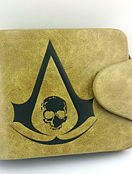 Bag / Wallets Inspired by Assassin's Creed Connor Anime/ Video Games Cosplay Accessories Wallet Yellow Male / Female