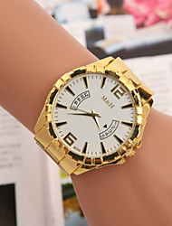 Men's Watches Europe And The United States Selling Fake Swiss Quartz Calendar Hand Watch With Gold Alloy Cool Watch Unique Watch Fashion Watch