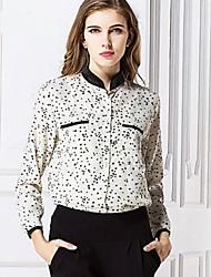 Cool Lady Women's Casual Shirt Collar Long Sleeve Casual Shirts