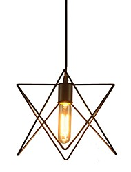 Vintage Chandeliers for Dining Room in Star Shape,Black