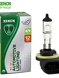 2pcs xencn 881 12v 27w 3200k série clara carro original dos faróis de alta qualidade lâmpadas de halogéneo bulbo auto nevoeiro