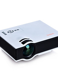 Full HD HDMI 1080P Home Theater LCD Mini Projector for Video Games TV Movie, 800Lumen, Native Resolution 800*600, UC40