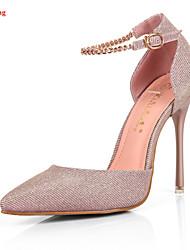 rilihong® Women's Shoes Synthetic Stiletto Heel Heels/ Sandals/Pumps/Heels Office & Career/Party & Evening/Dress/Casual