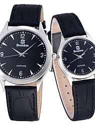 bestdon casal moda impermeável relógio de pulso de quartzo (duas opções de cores)