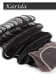 8-24 inch 3 part closure, free parting lace closure, cheap human hair lace closure,