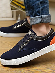 Men's Shoes Casual Canvas Fashion Sneakers Blue/Brown/Navy
