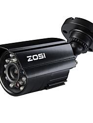 zosi® 700tvl ir día noche 4.6mm cctv lente de la cámara de vigilancia seurity impermeable al aire libre de corte