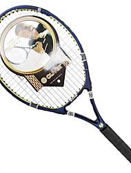 Las raquetas de tenis ( Azul/Naranja , Aleación de aluminio y carbono ) - Impermeable/Buena aerodinámica/Alta elasticidad/Durabilidad