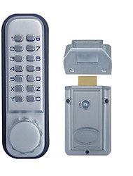 Mechanical Keyless Digital Door Lock Stain Chrome OS10D