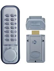 keyless digital porta mancha de bloqueio chrome os10d mecânica