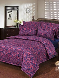 Mingjie Court Style Purple Sanding Bedding Sets 4pcs Duvet Cover Sets Bed Linen China Queen Size and Full Size