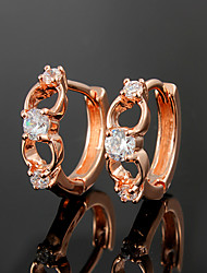 Hottest Fashion Party/Casual Gold Plated Hoop Earrings Fashion Jewelry for Women 2021